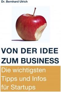 Titelseite des Buchs Von der Idee zum Business